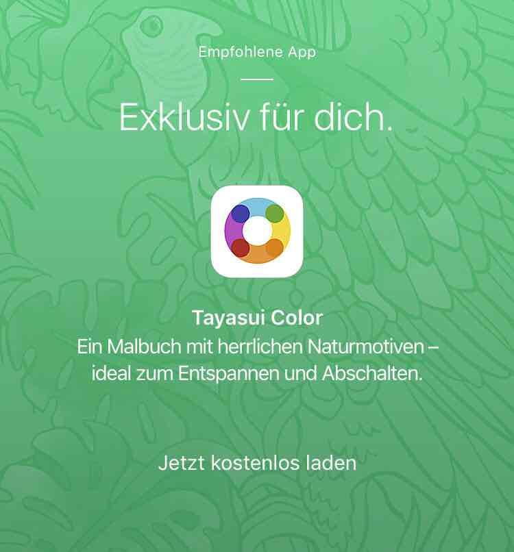 [iOS] Tayasui Color kostenlos statt 1,99€