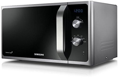 [Amazon Blitzangebot] Solide Solo Mikrowelle Samsung MS23F301EAS / 23 L / 800 W / schwarz / silber