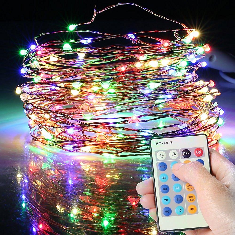 [Amazon Marketplace] LED Lichterkette mit Fernbedienung für 10,19 Euro statt 20,99 Euro / 2 Ketten für 17,99 Euro