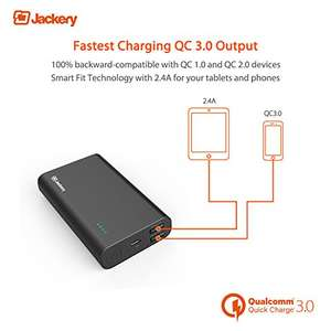 [Amazon] Jackery Thunder 10500mAh QuickCharge 3.0 Powerbank für 18,28€ statt 30,99€