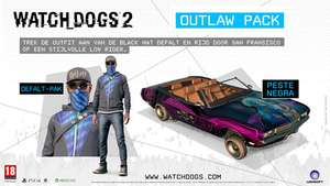 Watch Dogs 2 ULC Outlaw Pack kostenlos Xbox One, PS4 und PC