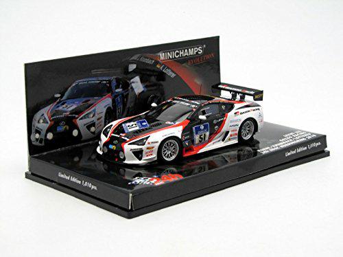 amazon.de Minichamps 437101651 - Lexus LFA - Gazoo Racing, Hahne/Krumbach/Lotterer, Maßstab: 1:43