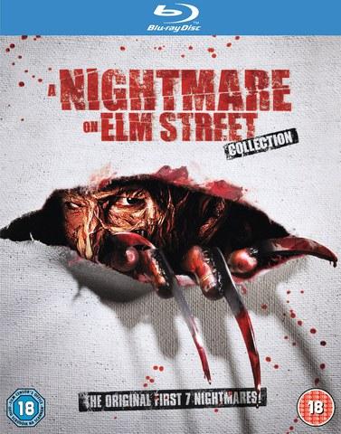 Nightmare On Elm Street 1-7 Blu-ray / Zavvi