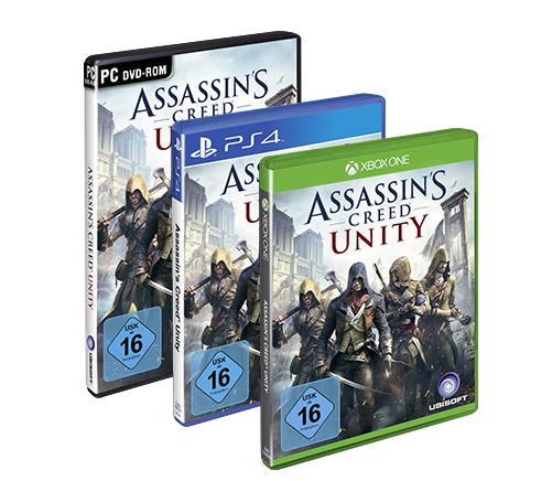 (PC/PS4/Xbox One) Assassin's Creed Unity - Special Edition für 10,46€ bzw. 15,46€ oder 8,97/12,97€ mit Ubisoft-Club Rabatt