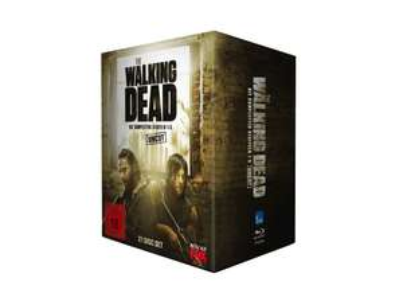 [Saturn Österreich] The Walking Dead - Staffel 1-5 Box - Uncut [Blu-ray] für 69,-€