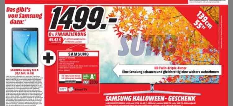 Samsung UE 55 KS8090 (Lokal Gütersloh & Lippstadt)