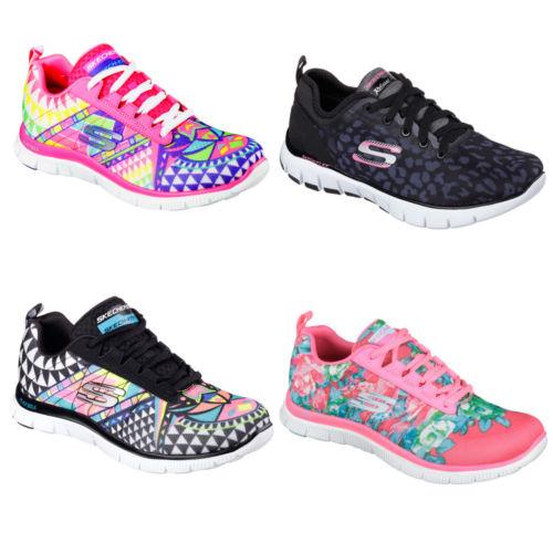 Ebay - SKECHERS Damen Sneaker Turnschuh Memory Foam FLEX APPEAL ARROWHEAD verschiedene Farben