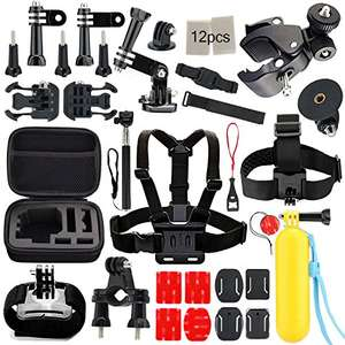 Sport Kamera Zubehörset für GoPro Hero 1/2/3/4/5 SJ4000 SJ5000 SJ6000 //Amazon //PrimeVersand
