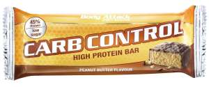 [Amazon Prime only] Body Attack Carb Control Protein Riegel ** Peanut Butter ** 15x 100g