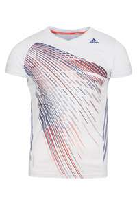 adidas Performance Badminton Graphic Tee Trikot für 9,99 €