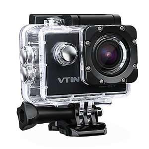 Action Kamera WIFI 2,0 Zoll, VTIN Full HD 1080P Sport Action Camera Cam Wasserdicht für 48,99€ statt 65,99€ [Amazon Angebote des Tages]