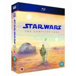 [shop4de] Star Wars The Complete Saga (Blu-ray) für 55,18€ (VP: 68€)