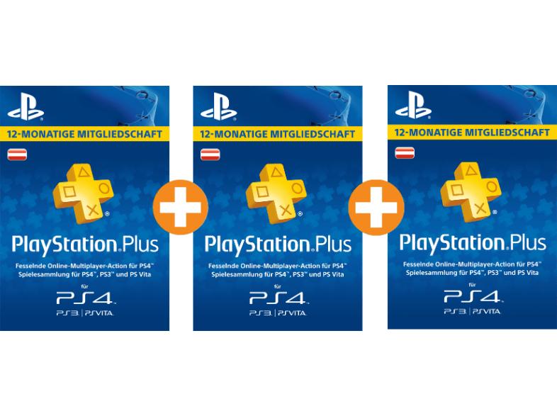 [AT PSN] 3x 12 Monate Playstation Plus für 92€ [Saturn.at]