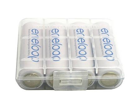 1,65€/Stück: 16x Panasonic Eneloop AA (Mignon) 2000mAh Ready2Use Akkus mit geringer Selbstentladung + Aufbewahrungsboxen [Allyouneed: D-Edition]
