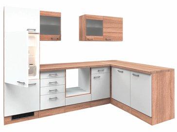 Winkelküche ohne Elektrogeräte