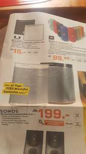 Sonos Play:1 199€ Saturn Bremen City ab heute