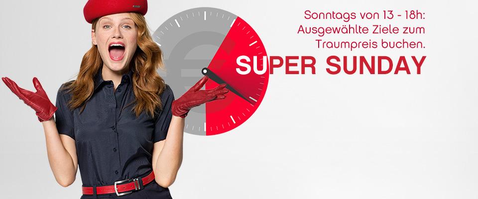 Flüge an die Westküste USA oder Florida für 450€ mit airberlin Super Sunday bis 18 Uhr