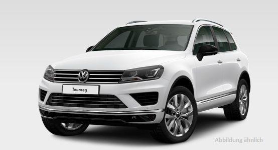 VW Touareg Gebrauchtwagenleasing 36 Monate für EUR 333 bei 10.000km p.a. oder EUR 379 bei 15.000km p.A.