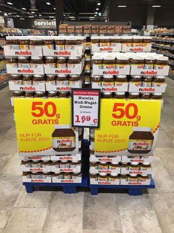 [MAINZ] Nutella 450g + 50g
