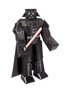 Star Wars Papier Bastelset Darth Vader, groß, 30 cm von Jazwares für 1,87 € [Amazon plus]