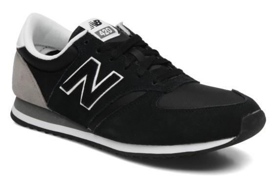 New Balance 420 Trainers Schwarz für 30,95€ inkl. Versand statt 79,90€ (Günstige New Balance Sneakers auf Asos mit Gutschein)