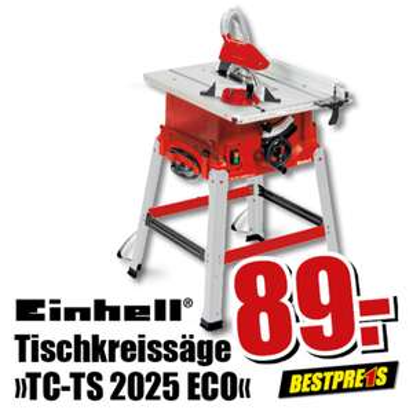 Einhell Tischkreissäge TC-TS 2025 ECO