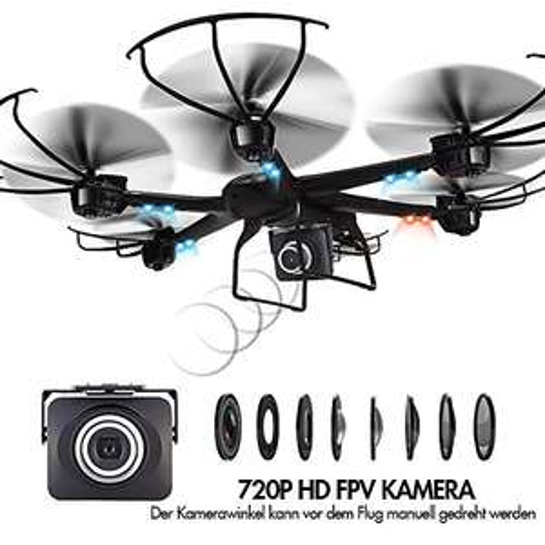 MJX 600 RC Quadcopter mit Heimkehr-Button und Headless-Mode [Amazon]