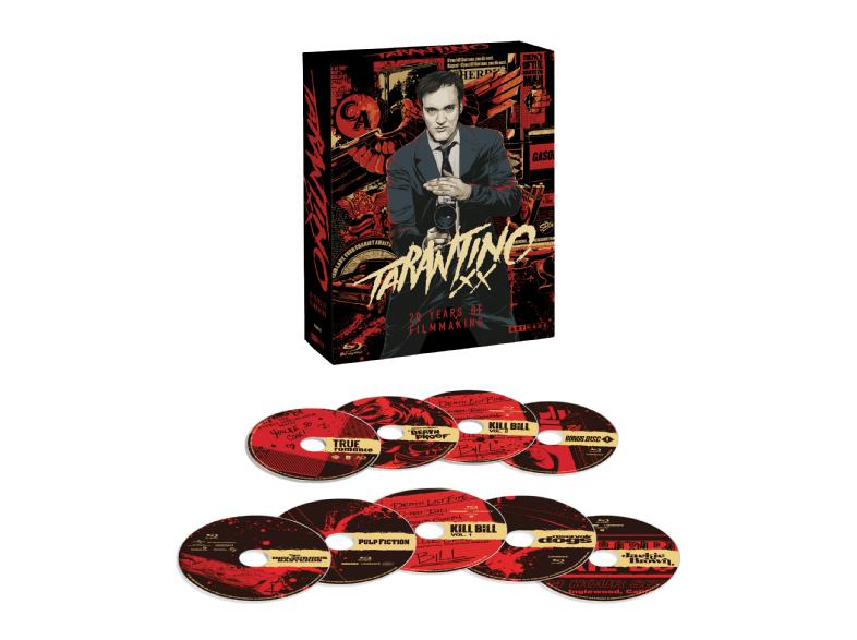 Tarantino-Box (BR) für 36,66€ dank Arthaus Aktion
