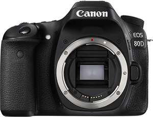 [Amazon] Canon EOS 80D (Body) in Kombination Blitzangebot/Winter-Cashback für 809 Euro bzw. 764 Euro