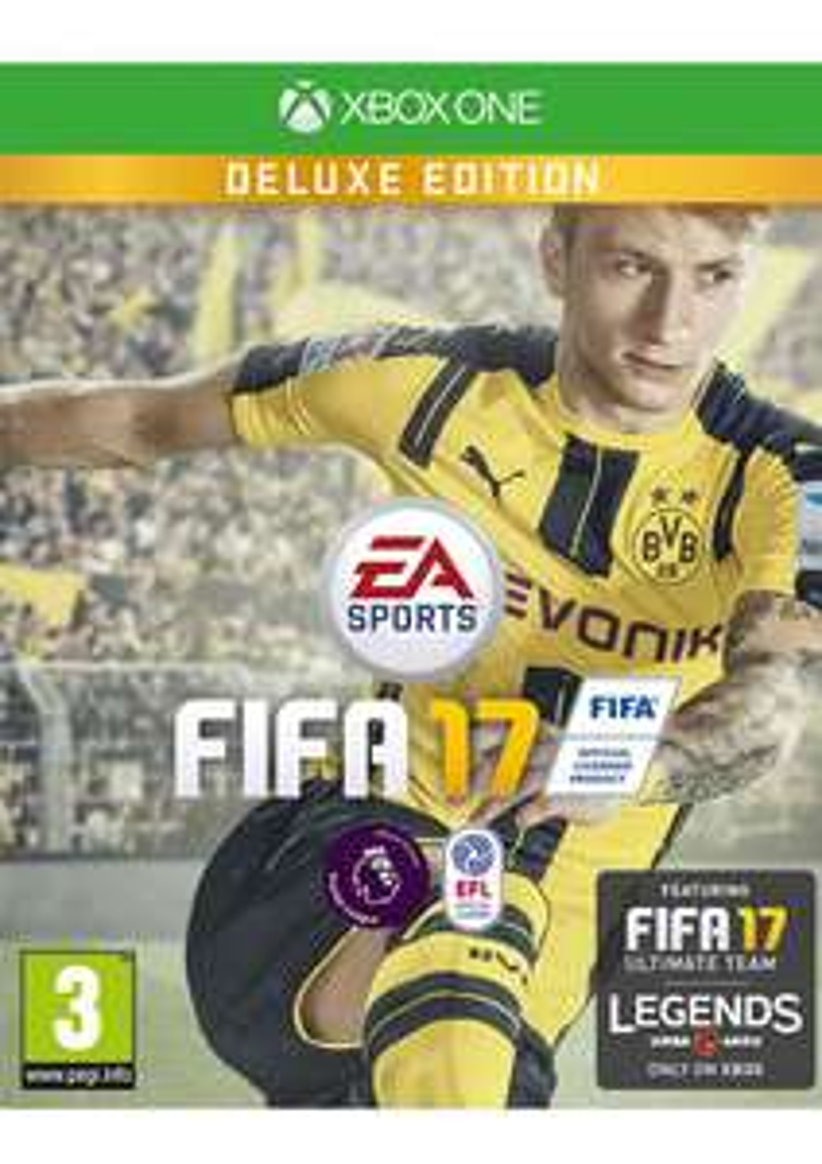 [Xbox One/PS4] FIFA 17 DELUXE Edition für ~47.00 EUR incl. Versandkosten