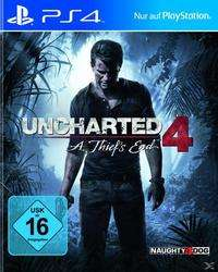 Uncharted 4: A Thief's End (PS 4) @expert-Technomarkt | 19 € + 3,99 € Versand