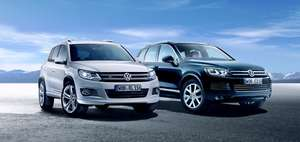VW PrivatLeasing Sonderaktion 0,13% Jahreswagen Touareg Tiguan Touran