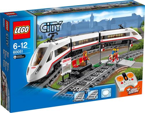 LEGO® City 60051 - Hochgeschwindigkeitszug mit Sovendus für 67.99 EUR sonst 77,99 EUR bei [windeln.de]