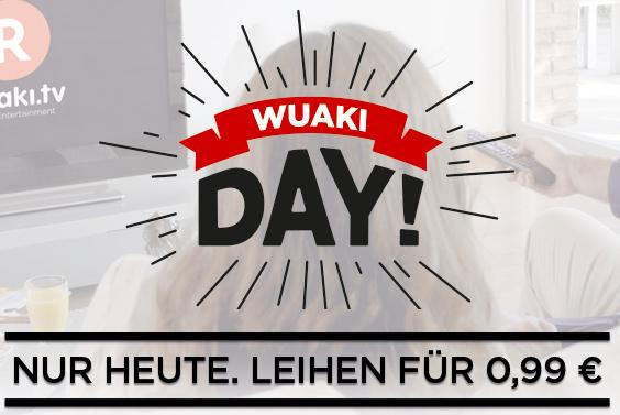 Wuaki Day - 21 Filme für je nur 0,99€ leihen - nur heute!