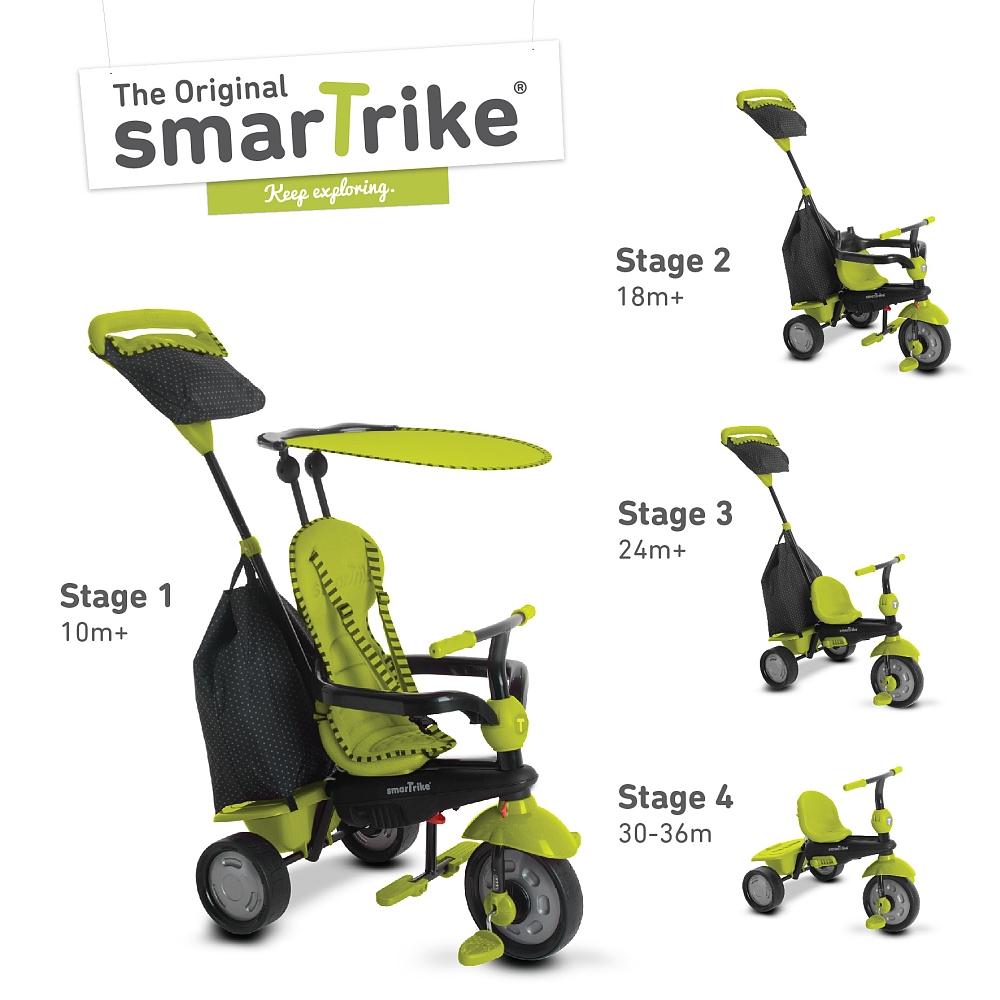 smarTrike 4-in-1; Glow (grün);