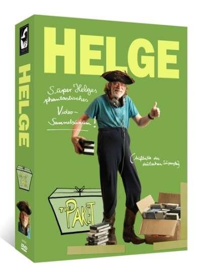 Helge Schneider: Helge Schneider - The Paket (11 DVDs Limitiertes Box-Set) @JPC / GroovesLand