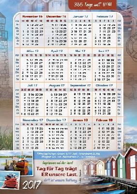 Gratis Kinder Kalender 2017