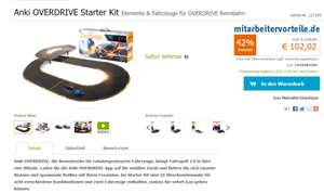 [Gravis] Anki Overdrive Starter Kit