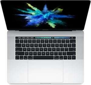 "Apple MacBook Pro 15"" mit Touch Bar / Touch ID 2,6 GHz QuadCore i7 256GB SDD 16GB RAM in Silber [Computeruniverse.net]"