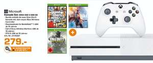 [Lokal Saturn Augsburg] XBox One S 500 GB + Battlefield 1 + GTA 5 + Call Of Duty Infinite Warfare für 279,-€