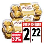 [EDEKA-Südwest, Kaufland]  Ferrero Rocher 200g Packung für 2,22 Euro