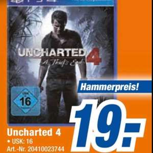 PS4 Uncharted 4 - A Thief's End - Lokal Singen