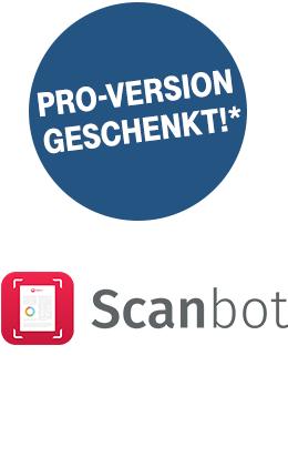 SCANBOT PRO (iOS & Android) für Telekom-Kunden kostenlos / Reseller auch möglich