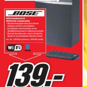 Bose Soundtouch 10(Lokal  Media Markt Köln City am Dom)