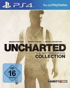 Uncharted - The Nathan Drake Collection (PS4) für 20,99€ & Heavy Rain / Beyond Two Souls Collection (PS4) für 15,99€ [PSN+]