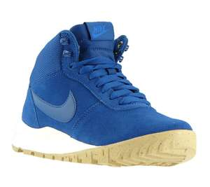 (Outlet46) NIKE Hoodland Suede Damen High Top Blau