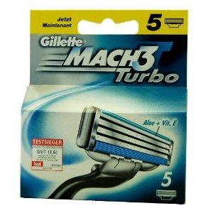 (Rossmann Offline) Gillette MACH3 Turbo 5 Rasierklingen für 9,99€