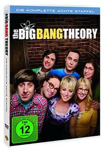 Big Bang Theory Staffel 8 (3 DVDs) bei Amazon