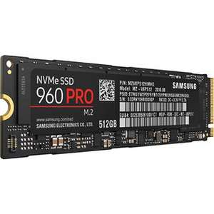 [mindfactory] Vorbestellung 512GB Samsung 960 Pro M.2 2280 NVMe PCIe 3.0 x4 32Gb/s 3D-NAND MLC Toggle 275,98€