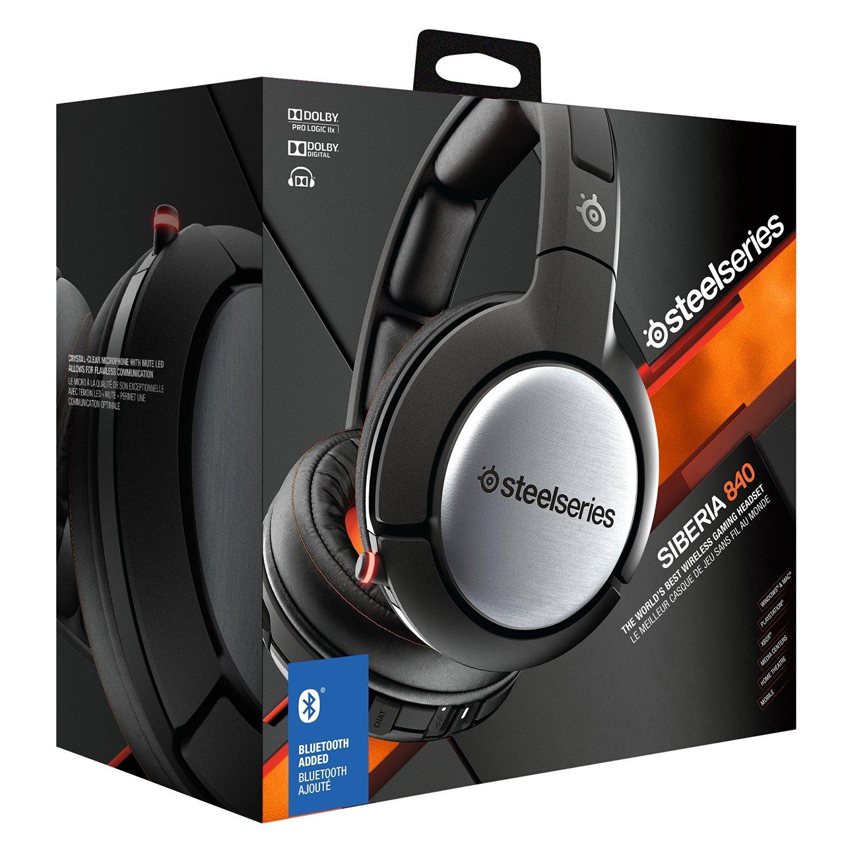 [Abgelaufen] [Amazon.de] SteelSeries Siberia 840 Wireless Bluetooth Gaming Headset